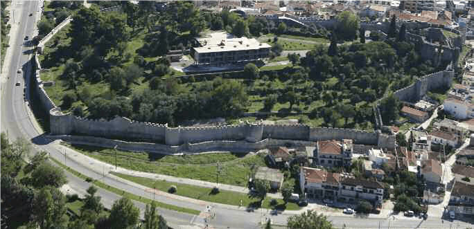 The Castle of Arta, north sector