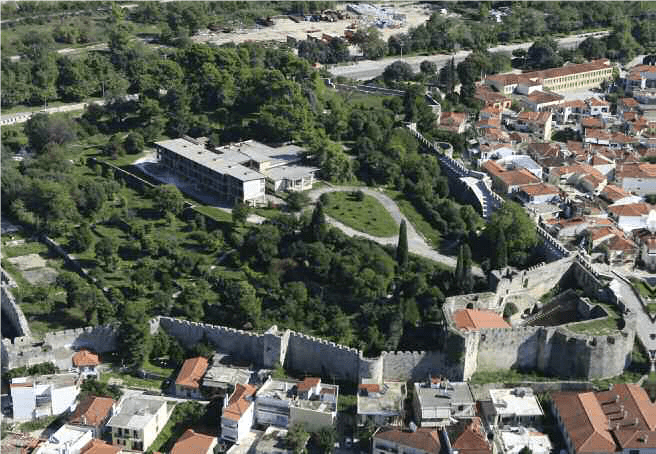 The Castle of Arta, west sector.